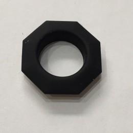 Люверс ромб 14мм №28 нержавейка черный (1000 штук)