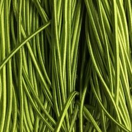 Резинка шнур производство 2,5см салатовый тейлон (50 метров)