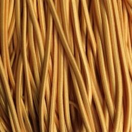 Резинка шнур производство 2,5см желтый (50 метров)
