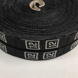 Размерная лента (тканная) 12 (1000 штук)