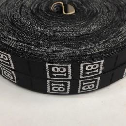 Размерная лента (тканная) 18 (1000 штук)