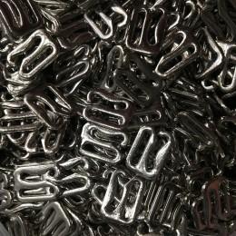 Крючек металл литой 10мм никель (1000 штук)