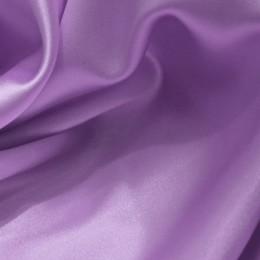 Ткань атлас стрейч тонкий лиловый (метр )