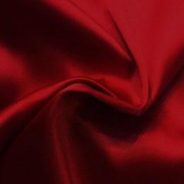 Ткань атлас стрейч тонкий вишня (метр )