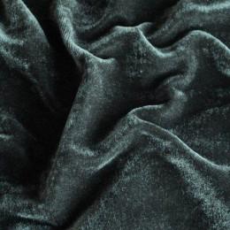 Ткань велюр стрейчевый темно-серый (метр )