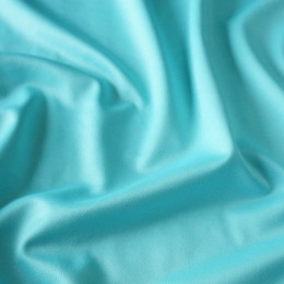 Ткань трикотаж дайвинг однотонный голубая мята (метр )