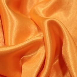 Ткань креп-сатин апельсин (метр )