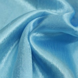 Ткань креп-сатин бледно голубой (метр )