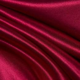 Ткань креп-сатин вишня (метр )
