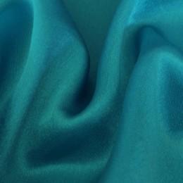 Ткань креп-сатин бирюза (метр )