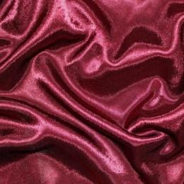 Ткань креп-сатин бордо (метр )