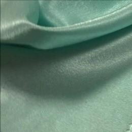Ткань креп-сатин бледная мята (метр )