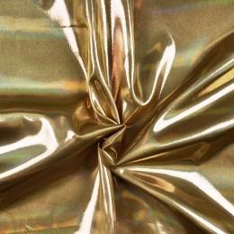 Ткань парча перламутр (сатин) (сатин) золото (метр )