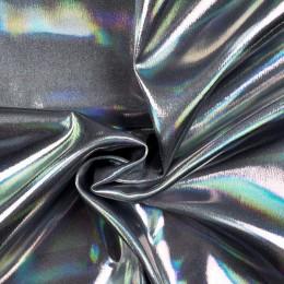 Ткань парча перламутр (сатин) (сатин) серебро (метр )