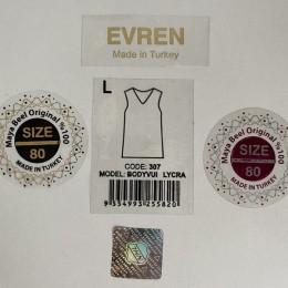 Наклейка брендированная с логотипом под заказ (Штука)