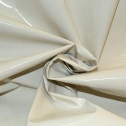 Ткань лак тонкий молочный (метр )