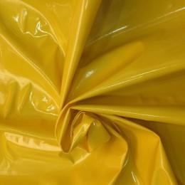 Ткань лак тонкий желтый (метр )