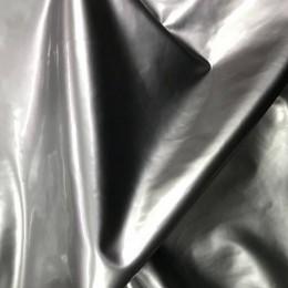 Ткань лак стрейч (латекс) серебро (метр )