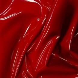 Ткань лак стрейч (латекс) красный (метр )