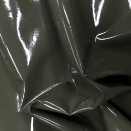 Ткань лак стрейч (латекс) хаки (метр )