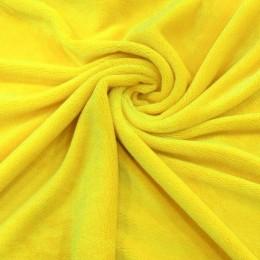Ткань махра желтый (метр )