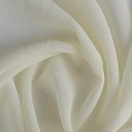 Ткань креп-шифон молочный (метр )