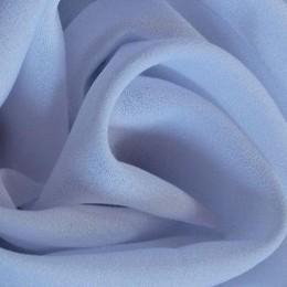 Ткань креп-шифон бледно голубой (метр )