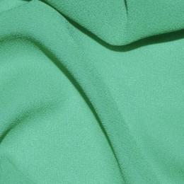 Ткань креп-шифон зеленая мята (метр )