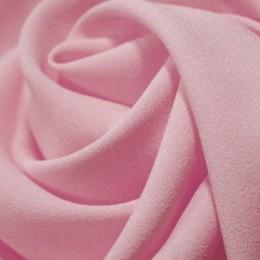 Ткань креп-шифон бледно розовый (метр )