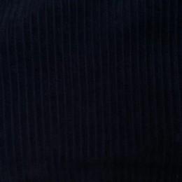 Ткань вельвет крупный темно синий (метр )