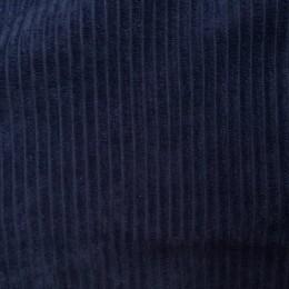 Ткань вельвет крупный синий (метр )