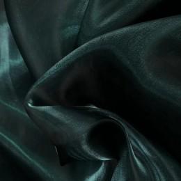 Ткань органза однотонный изумруд (метр )