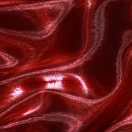 Ткань органза однотонный бордо (метр )