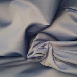 Ткань эластик с начесом голубой (метр )