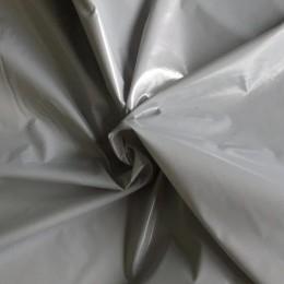Ткань плащевка монклер светло серый (метр )
