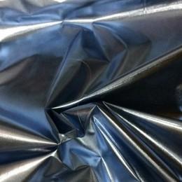 Ткань плащевка лаке металлик стальной (метр )