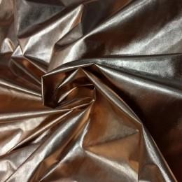 Ткань плащевка лаке металлик бронза (метр )