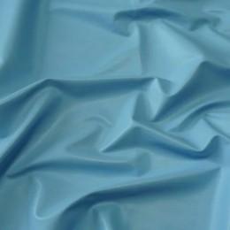 Ткань кожа стрейч голубая (метр )