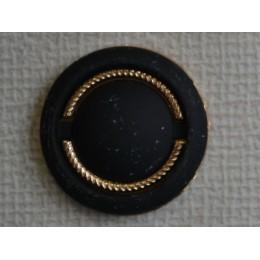 Кнопка декоративная 25 мм №9 золото (1000 штук)