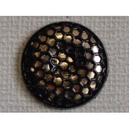 Кнопка декоративная 25 мм №18 золото (1000 штук)