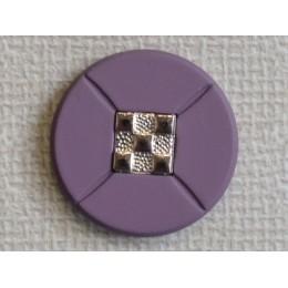 Кнопка декоративная 25 мм №23  никель (1000 штук)