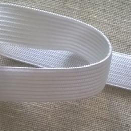 Резинка плоская 30мм белая (40 метров)
