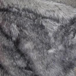 Искусственный мех Кролик темно-серый (метр )
