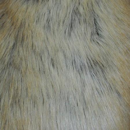 Искусственный мех Лиса светлая (метр )