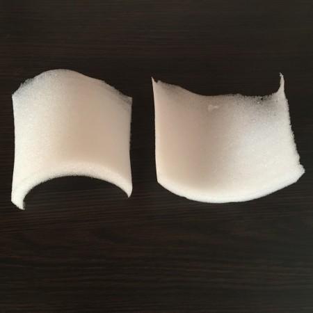 Плечевые накладки, подплечники поролоновые 25мм НУ (25х125х120мм) (200 пар)