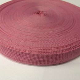 Тесьма окантовочная 18мм розовый (50 метров)