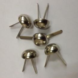 Ножка металлическая для сумок грибок 9мм (1000 штук)