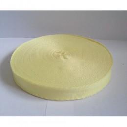 Тесьма лента  киперная 15мм №108 желтый (100 метров)