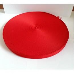 Тесьма лента  киперная 15мм №148 красный (100 метров)