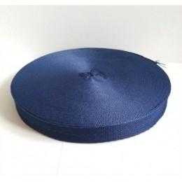 Тесьма лента  киперная 15мм №569 темно синий (100 метров)